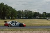 Porsche at the track